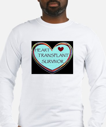 Heart Transplant Survivor Long Sleeve T-Shirt