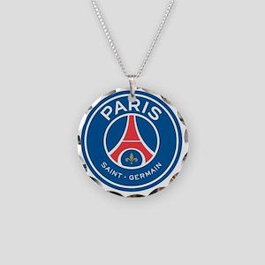 Paris Saint Germain Necklace Circle Charm