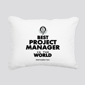 Best Project Manager in the World Rectangular Canv