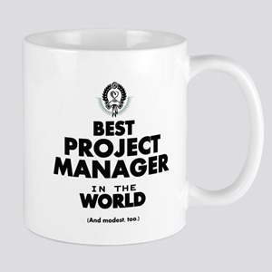 Best Project Manager in the World Mugs