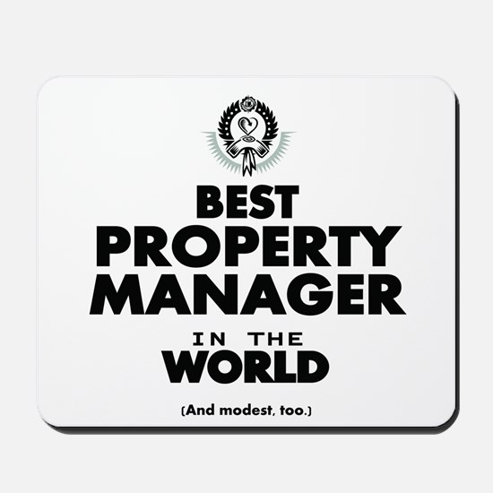 Best Property Manager in the World Mousepad