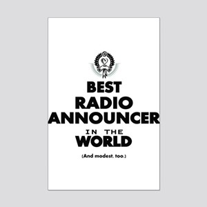 Best Radio Announcer in the World Posters