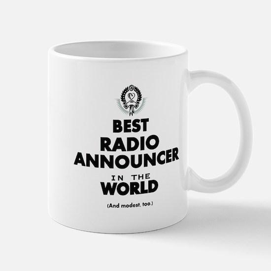 Best Radio Announcer in the World Mugs