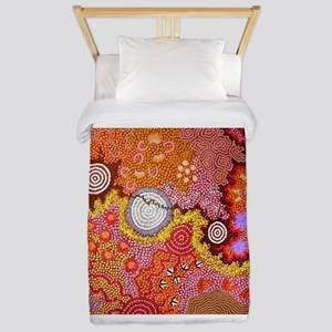 AUSTRALIAN ABORIGINAL ART Twin Duvet
