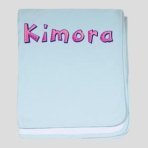 Kimora Pink Giraffe baby blanket