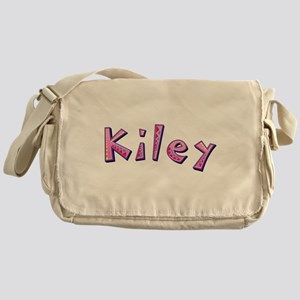 Kiley Pink Giraffe Messenger Bag