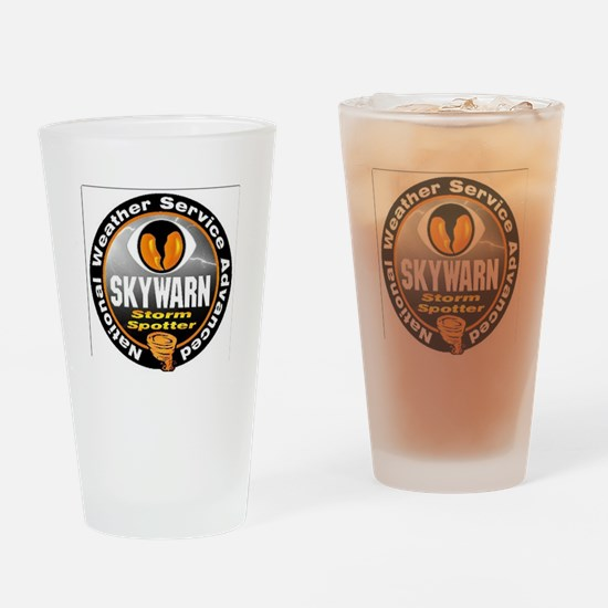 NWS Advanced Skywarn Spotter Drinking Glass