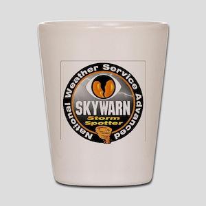 NWS Advanced Skywarn Spotter Shot Glass