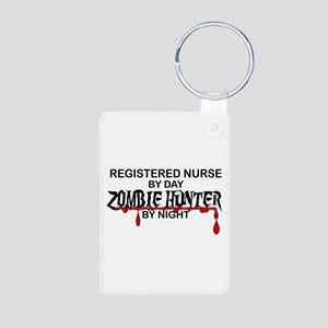 Zombie Hunter - RN Aluminum Photo Keychain