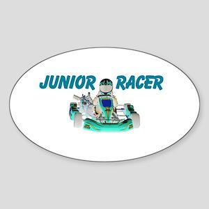 Junior Racer Sticker