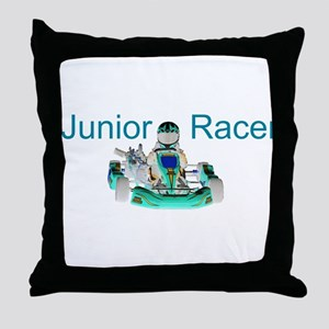 Junior Racer Throw Pillow