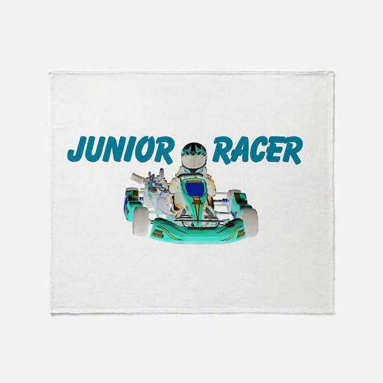 Junior Racer Throw Blanket