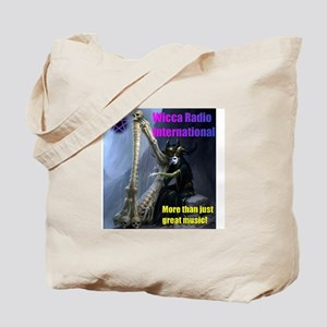 Wicca Radio Harp Tote Bag