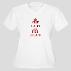 Keep Calm and Kiss Leilani Plus Size T-Shirt