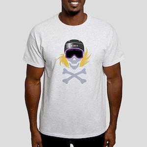 Lil' Snowboarder Skully Light T-Shirt