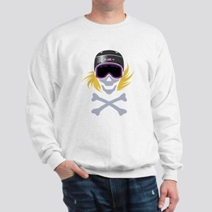 Lil' Snowboarder Skully Sweatshirt