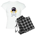 Lil' Snowboarder Skully Women's Light Pajamas