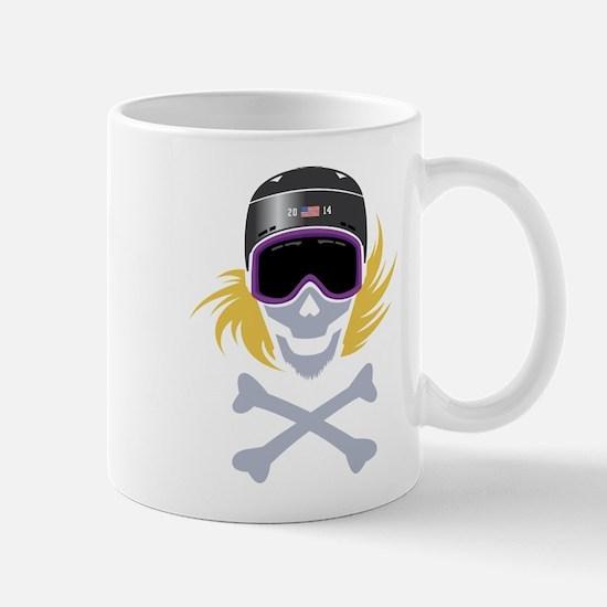 Lil' Snowboarder Skully Mug