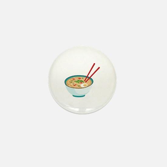 Pho Noodle Bowl Mini Button