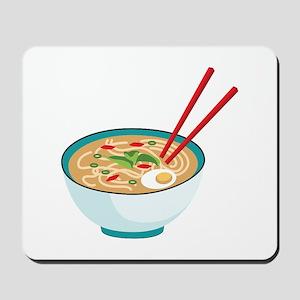 Pho Noodle Bowl Mousepad