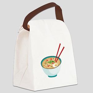 Pho Noodle Bowl Canvas Lunch Bag