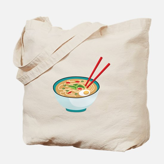 Pho Noodle Bowl Tote Bag