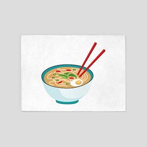 Pho Noodle Bowl 5'x7'Area Rug
