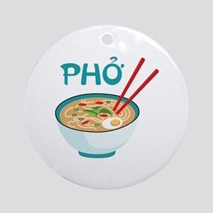 PHO Ornament (Round)