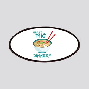 Whats Pho Dinner? Patches