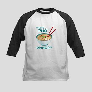 Whats Pho Dinner? Baseball Jersey