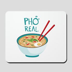 Pho Real. Mousepad