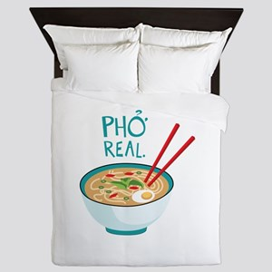 Pho Real. Queen Duvet