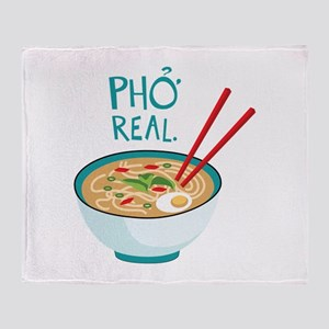 Pho Real. Throw Blanket