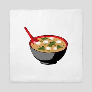 Miso Soup Bowl Queen Duvet