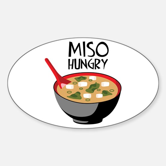 MISO HUNGRY Decal