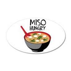MISO HUNGRY Wall Decal