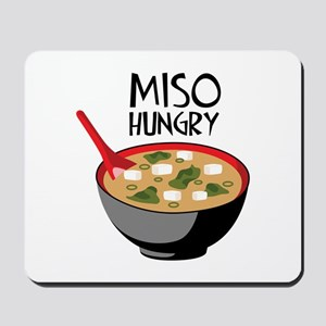 MISO HUNGRY Mousepad