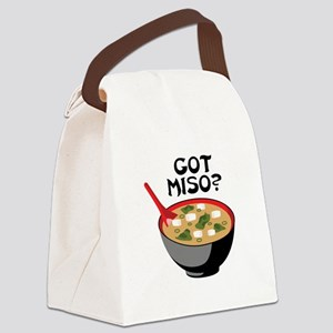 GOT MISO? Canvas Lunch Bag