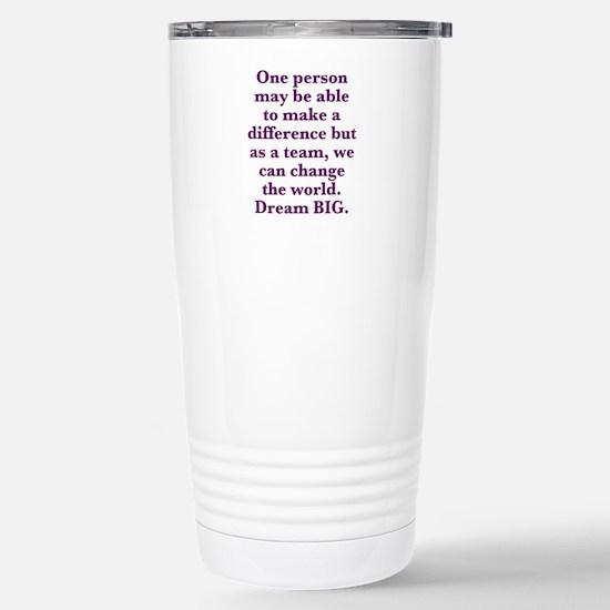 Team World Change Travel Mug