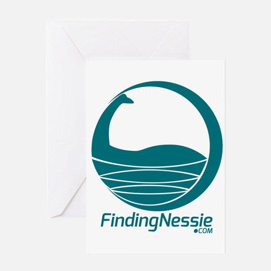 Finding Nessie Greeting Cards