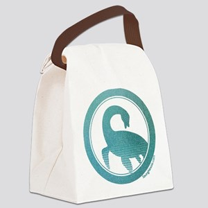 Nessie - Loch Ness Monster Canvas Lunch Bag