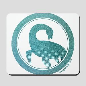 Nessie - Loch Ness Monster Mousepad