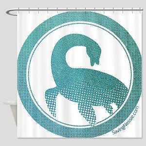 Nessie - Loch Ness Monster Shower Curtain