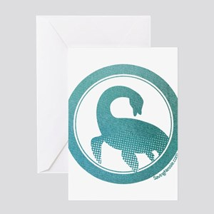 Nessie - Loch Ness Monster Greeting Cards