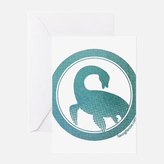 Nessie - Loch Ness Monster Greeting Cards