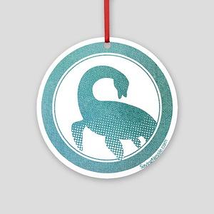 Nessie - Loch Ness Monster Ornament (Round)
