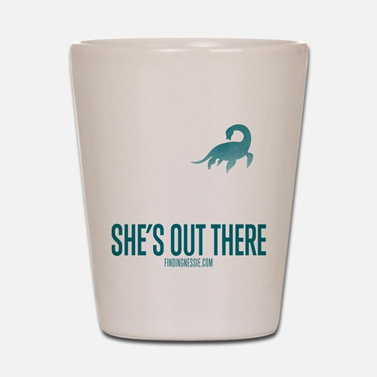 Loch Ness Monster - She's Out There Shot Glass