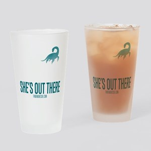 Loch Ness Monster - She's Out There Drinking Glass