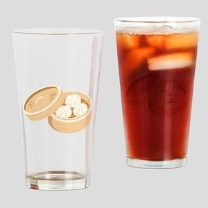 Asian Dumplings Drinking Glass