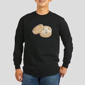 Asian Dumplings Long Sleeve T-Shirt